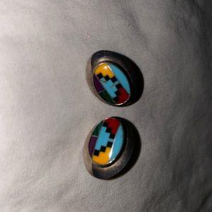 Arizona Aztec Costume Earrings